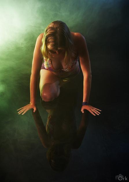 Water, model: Eva